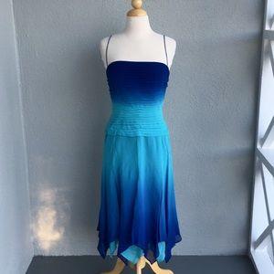 TADASHI by Tadashi Shoji Ombre Dress Size 4